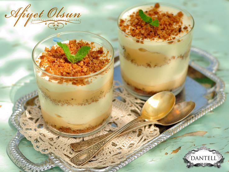 Akşam üzeri hafif bir tatlı seçeneği muzlu puding. Hem hafif, hem lezzetli. Afiyet olsun :)