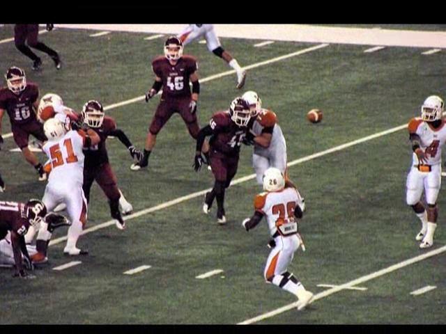West Mesquite vs Sherman Texas high school football playoffs 2010