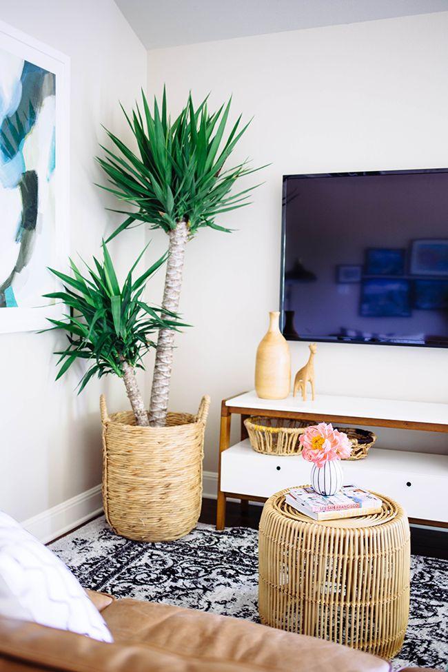 Modern TV Lounge Makeover