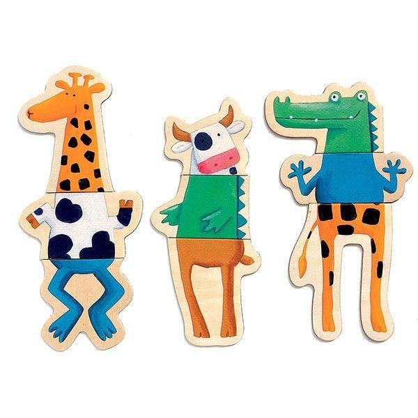 #Djeco - magneten - gekke dieren #magnets #kids #toys #playtime #littlethingz2