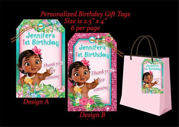 Thank You Topper Bag Moana Printable Topper Bag Flavour Printable Topper Thank You Topper Birthday Candy Bag Favor Thank You Moana