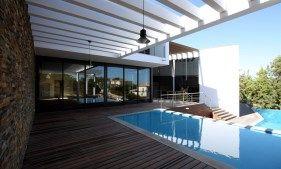 Quinta do Lago Villa, Algarve Moderne Architektur, 6 SZ, mit 953m2 Wohnfläche, Heim Kino, SPA
