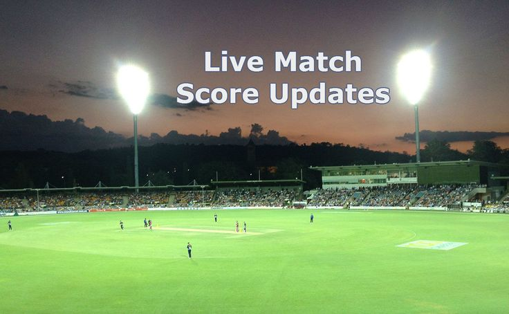 If you want be updated with all the live match score updates or any other cricket breaking news you can go onto any of the websites on the Internet showing cricket information.
