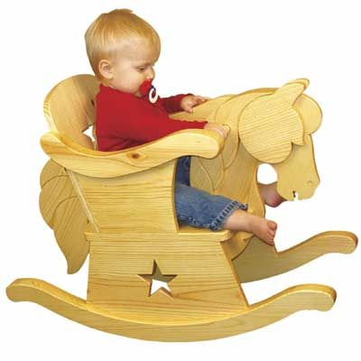 Wooden Rocking Horse Pattern Plan Infant Rocking Horse Chair This