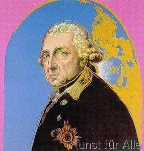 Andy Warhol - Friedrich der Große