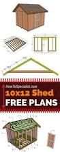 Image result for free 10x12 shed plans