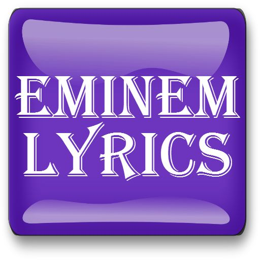 The largest collection of Eminem Lyrics on Android..  Are you looking for Eminem Lyrics ? All beautiful lyrics Eminem including the recent songs as well. This Eminem song lyrics app is perfect for all Eminem Fans. Here we present Lyrics of Eminem including all of his albums. Features : * Sorted by Album wise and some singles as well  * Easy to navigate  * Simple Interface