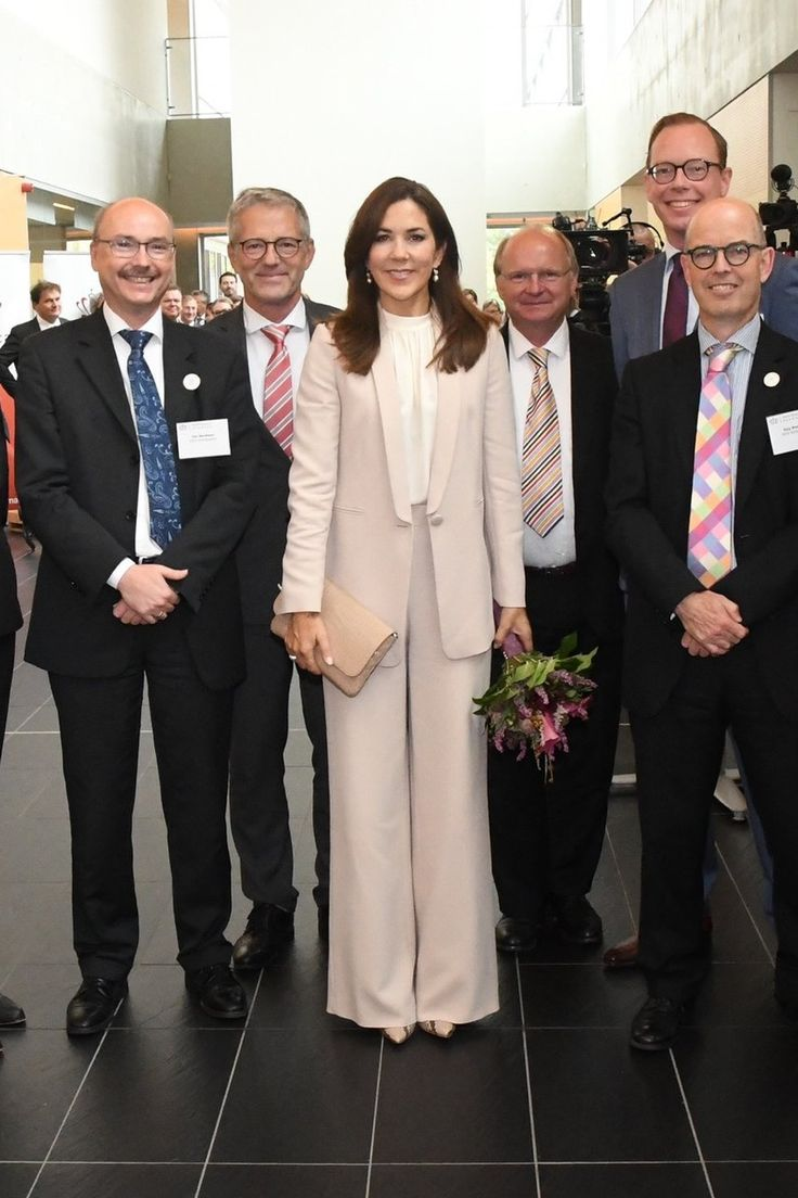 Crown Princess Mary Attends Reception for Healthcare Denmark