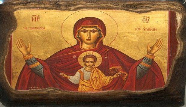 Του Μοναχού Κυπριανού Αγιορείτου  «Θεοτόκε Παρθένε, χαίρε Κεχαριτωμένη Μαρία, ο…