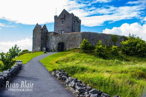 Ireland Caslte Fine Art Photograph - Dunguaire Castle - Glossy/Pearl/Lustre Fine Art Print