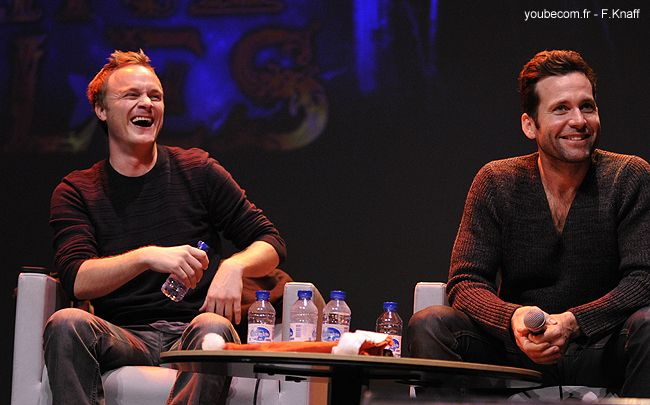David Anders et Eion Bailey