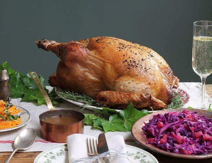 Butter Roast Turkey with Cider Gravy Recipe | Abel & Cole