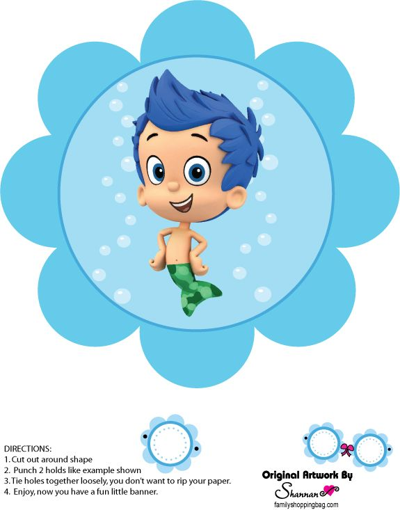 219 best Bubble Guppies Printables images on Pinterest ...