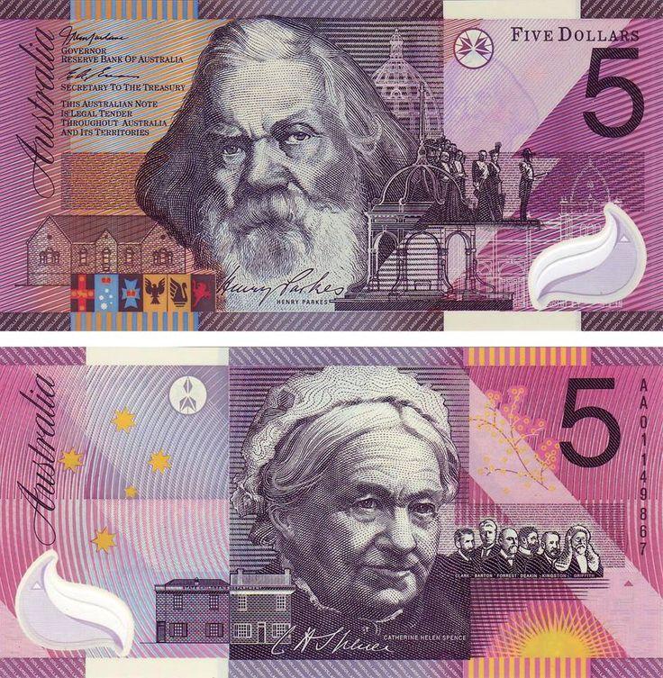 5 dolares Australia