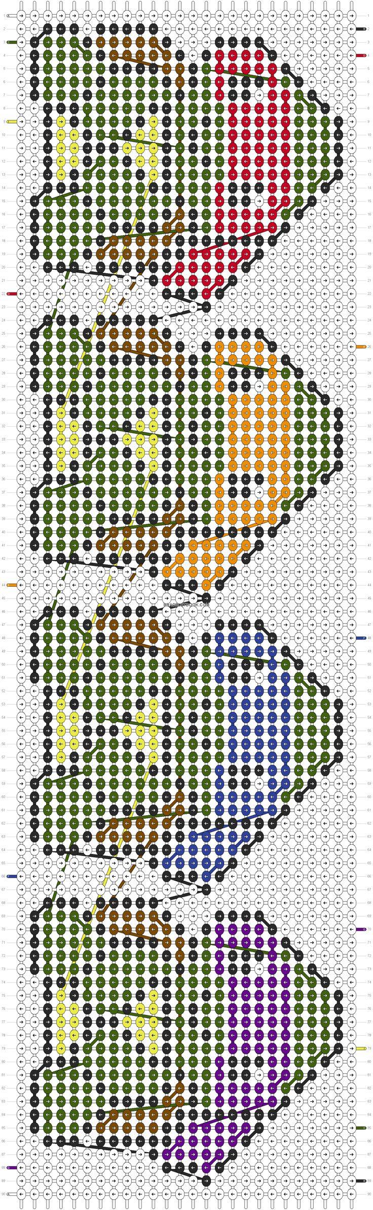 Фенечка схема черепашки