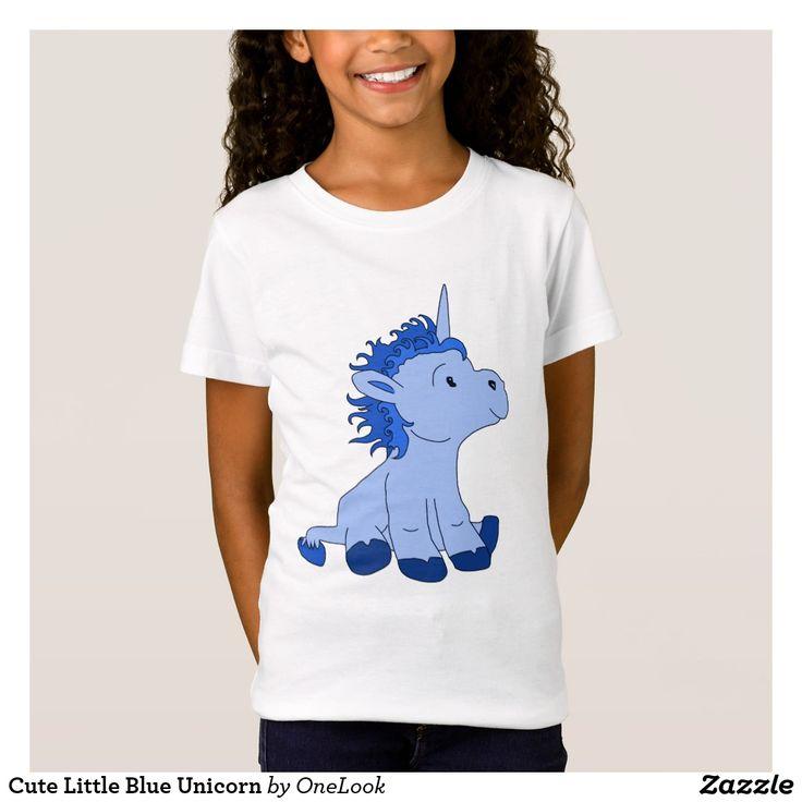 Cute Little Blue Unicorn