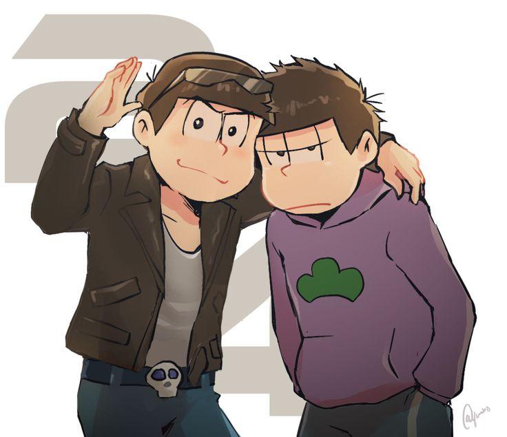 Karamatsu and Ichimatsu from Osomatsu-san