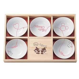 Mickey Mouse Appetizer Bowl Set