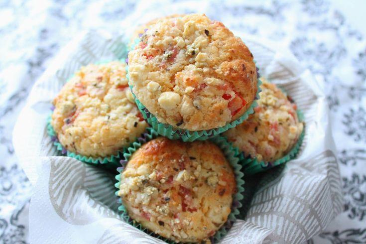 suolaiset muffinssit, kinkkumuffinssit