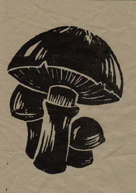 mushroom patch by theapothecarium on Etsy, $2.50