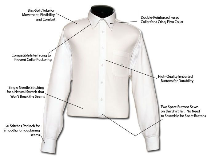 Dress shirts commonly have point collars. When your made to order dress shirts have point collars, there are no collar buttons.  For More Information visit http://festariformen.com/made-to-order-dress-shirts/