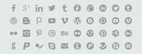 Symbolset: Add Social Icons To Any Site With This Web Font