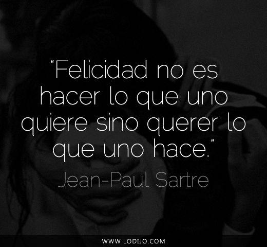Lo dijo... Jean-Paul Sartre | Frases célebres y dichos populares