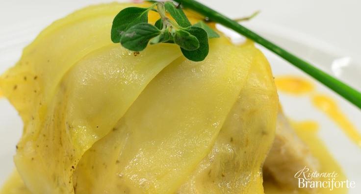 Lampuga in crosta di patate - Ristorante Branciforte