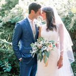 You know what makes me happy? This wedding. This rustic meets elegant Pittsburgh affair featuringone of the cutest duos you will ever virtually meet. Pair their awesome love story + never-ending smiling faces with a fabulous team of vendors (ahem,The Event Group) and it's the