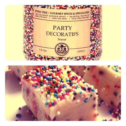 No-Bake Cake Batter Fudge - The Easiest Recipe on Earth   Revelry House    http://revelryhouse.tumblr.com/post/32206947949/no-bake-cake-batter-fudge-the-easiest-recipe-on-earth
