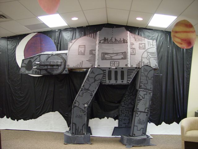 Party decoration ideas sci fi and parties decorations on for Sci fi decor