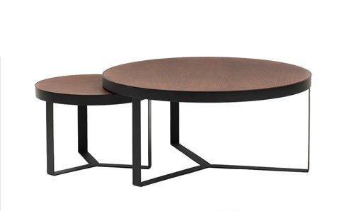Copper soffbord - Copper soffbord - svartbetsad ek, höjd 37 cm
