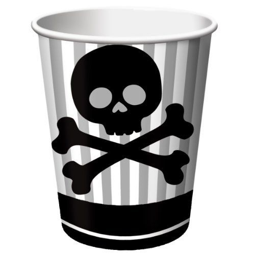 Creative Converting Pirate Parrty Hot Or Cold Beverage Cups 8 Count By