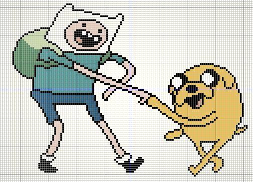 Adventure Time Cross Stitch Pattern Free 0 Cool Cross Stitch