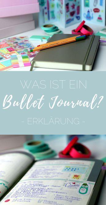 Schonmal was vom Bullet Journal gehört? Erfahre, wie ein Bullet Journal funktioniert und wie du damit deinen Alltag strukturieren kannst.