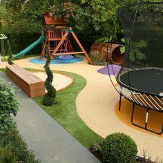 Best Garden Trampoline Ideas On Pinterest Trampolines