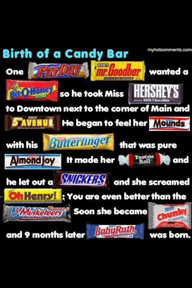 12 Best Candy Bar Poem Images On Pinterest Candy Bar