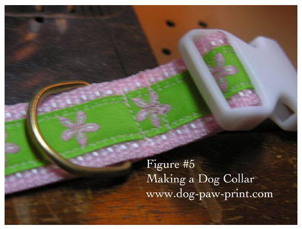 How to make a dog collar-