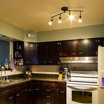 1000 ideas about kitchen track lighting on pinterest for Track lighting kitchen ideas