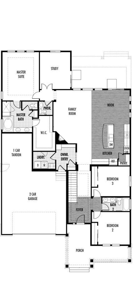 i love this plan with a finished walk out basement - Ryland Homes Colorado Floor Plans