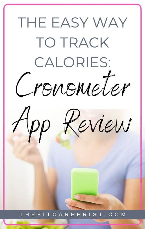 Cronometer App Review 2019 Easy Calorie Tracking on the