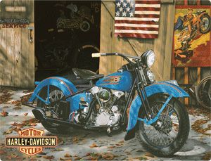 harley davidson tin signs - Google Search