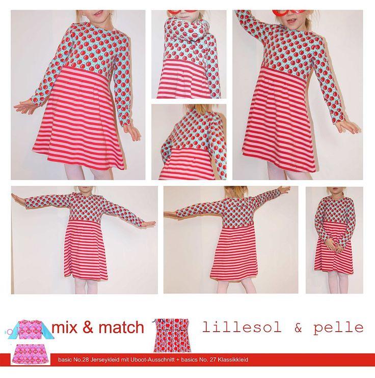 9 best lillesol & pelle / mix & match / Kleid mit U-Boot-Ausschnitt ...