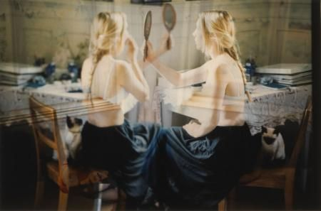 Annelies Štrba - Sonja with mirror, 1999