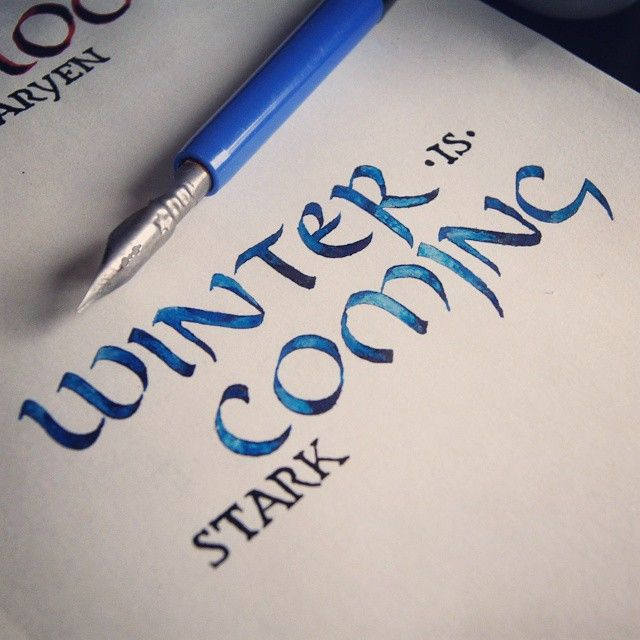"""""""Winter Is Coming"""" —House Stark"""