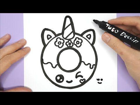 TUTO DESSIN - Dessin kawaii et facile à faire - YouTube ...