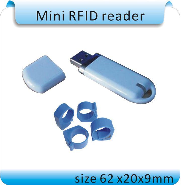 送料無料ISO11785/84 u-diskyスタイル125-134.2 Khz fdx-b動物管理ラベルリーダー、動物rfidタグリーダー+ 2ピースタグ