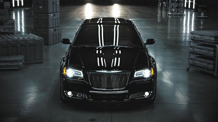 The 2014 Chrysler 300S shown with an available black chrome Mopar® brand grille.