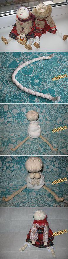 Бабка характерная (народная кукла)