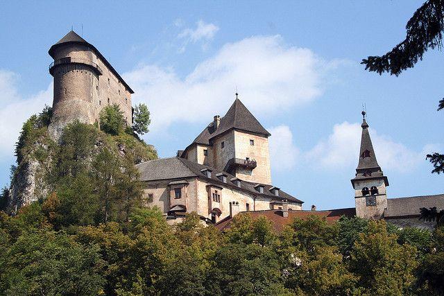 Orava Castle by DDanzig, via Flickr